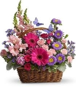 """Beautiful Butterfly Basket"" - Deluxe"