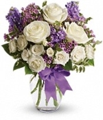 """Pretty in Purple"" - Fresh Flower Arrangement - Deluxe"