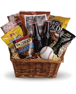 """For the Love of The Game"" Gift Basket"