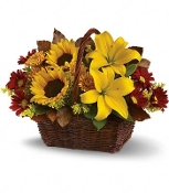 """Ray of Sunshine"" - Fresh Flower Arrangement"