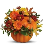 Harvest Blooms - Fresh Flower Arrangement