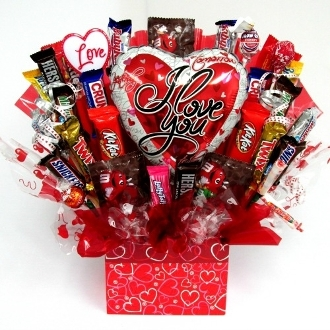 """Love Is So Sweet"" Candy Bouquet"